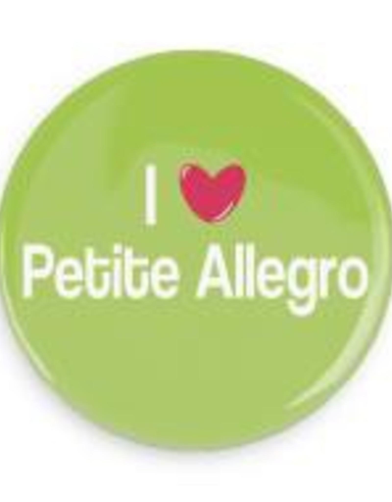 "B+ Printworks 750CC23 3"" Mirror - I Love Petite Allegro"