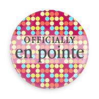 "B+ Printworks 750CC38 3"" Mirror - Officially En Pointe (Red)"