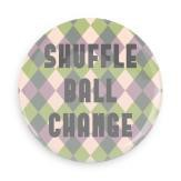 "B+ Printworks 750CC43 3"" Mirror - Shuffle Ball Change"