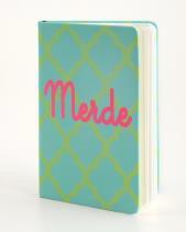 B+ Printworks 300CC33 Mini Journal - Merde (Green)