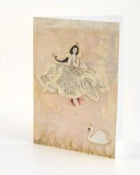 B+ Printworks 202VV04 Card - Swan Dance (Swan)