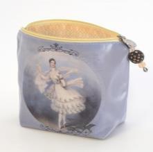 B+ Printworks 403VIN01 Cosmetic Bag - Marie Taglioni / Letter