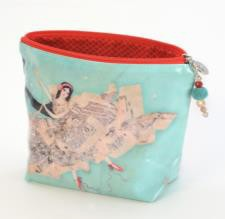 B+ Printworks 402VV03 Cosmetic Bag - Theater of Dreams (Black Horse)