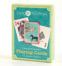 B+ Printworks 902VV03 Playing Cards - Theater of Dreams (Black Horse)