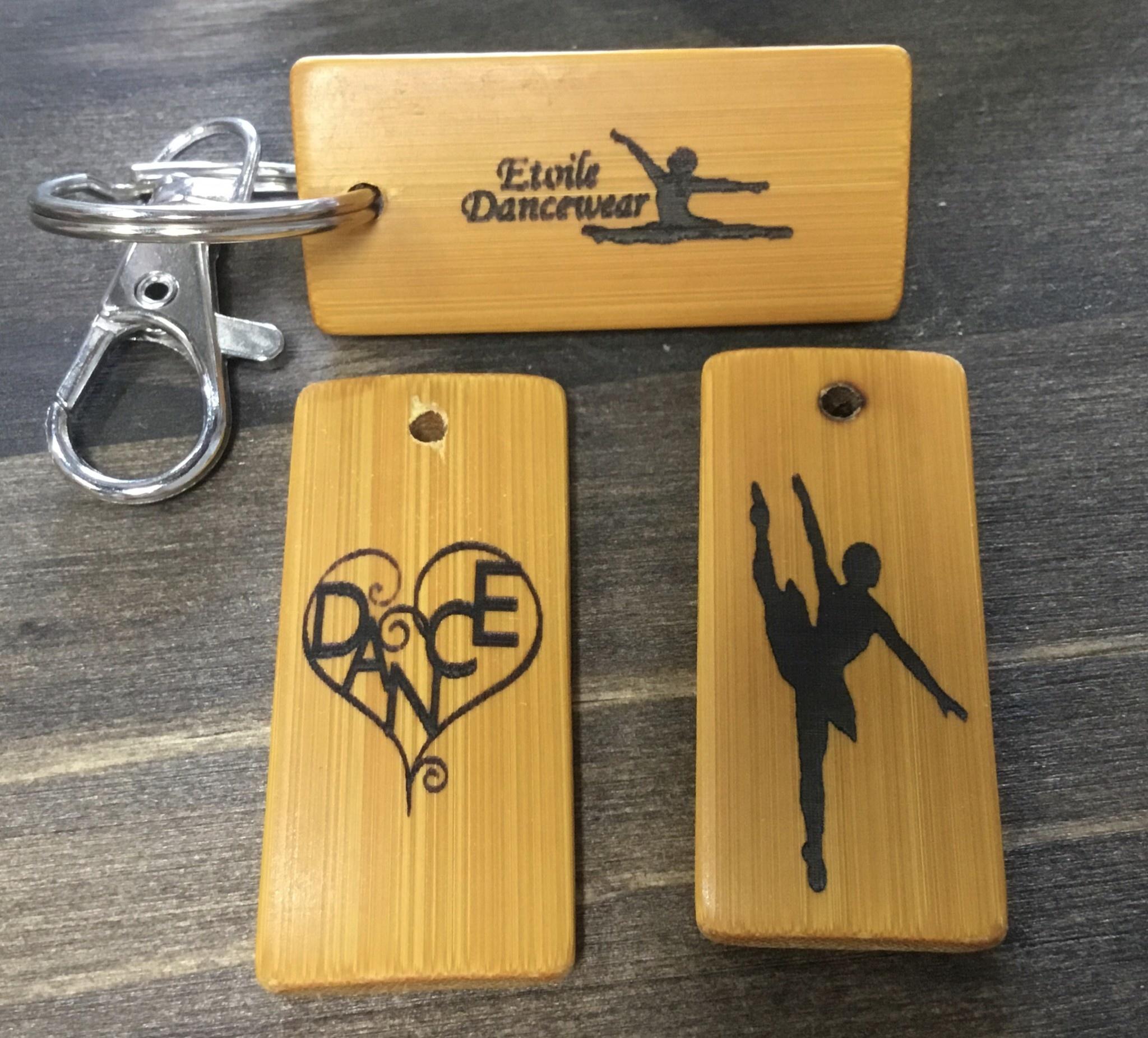 Etoile Dancewear Bamboo Keychain
