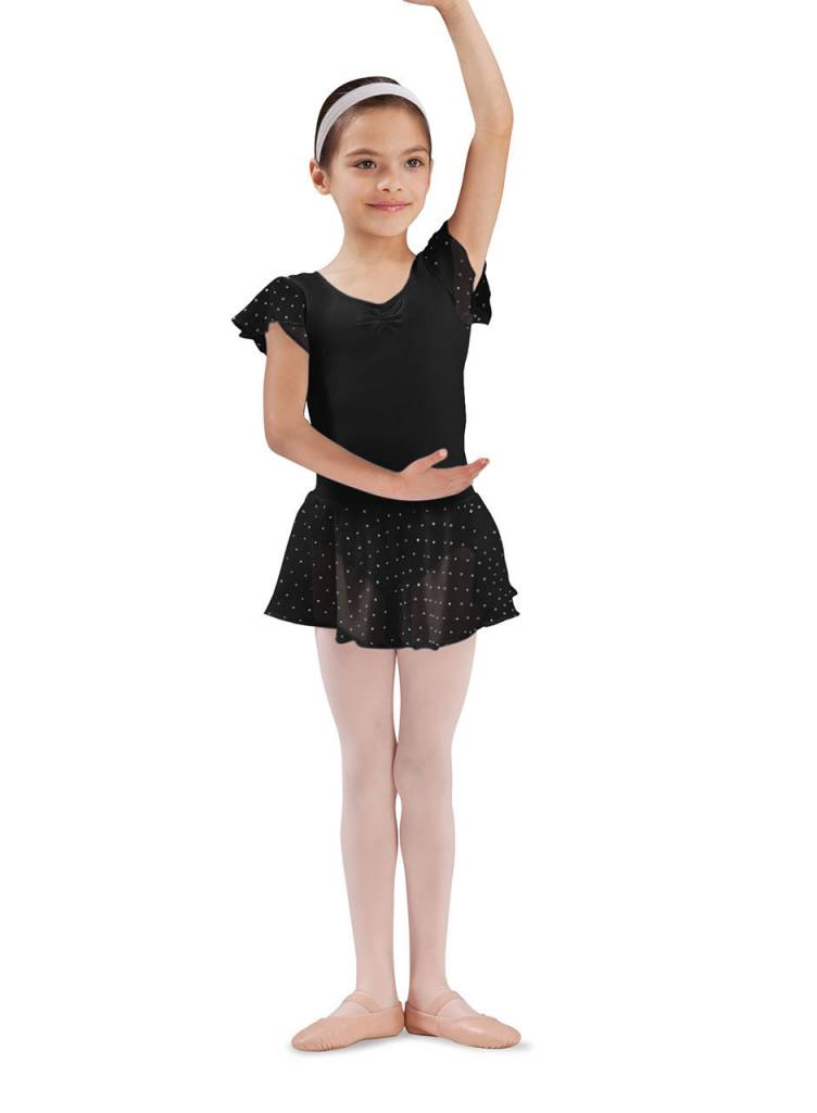 Bloch CR5161 Olesia Sequin Georgette Skirt