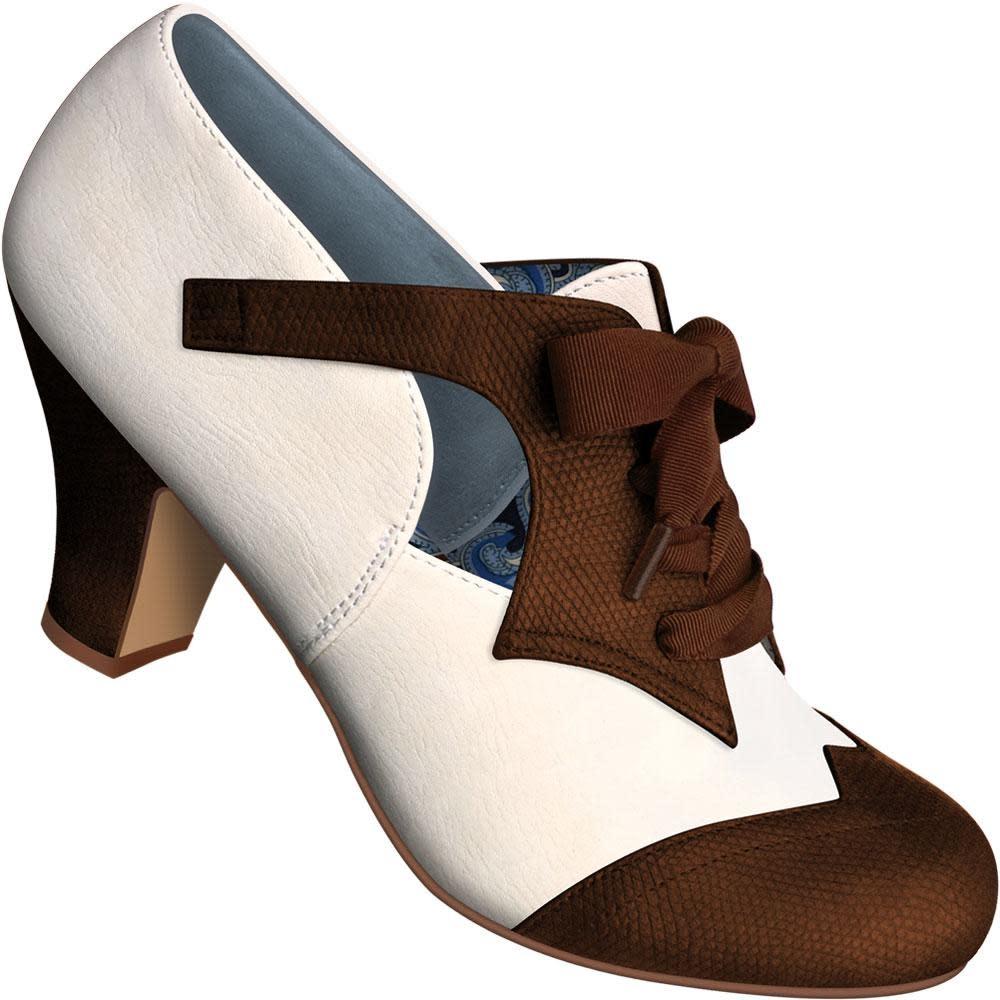 Aris Allen 469 Faux Lizard Oxford Dance Shoes with Ribbon Laces