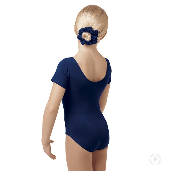 Eurotard 1043 - Eurotard Girls Short Sleeve Leotard with Cotton Lycra®