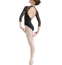 Bloch L6016 V Front 3/4 Sleeve Leotard