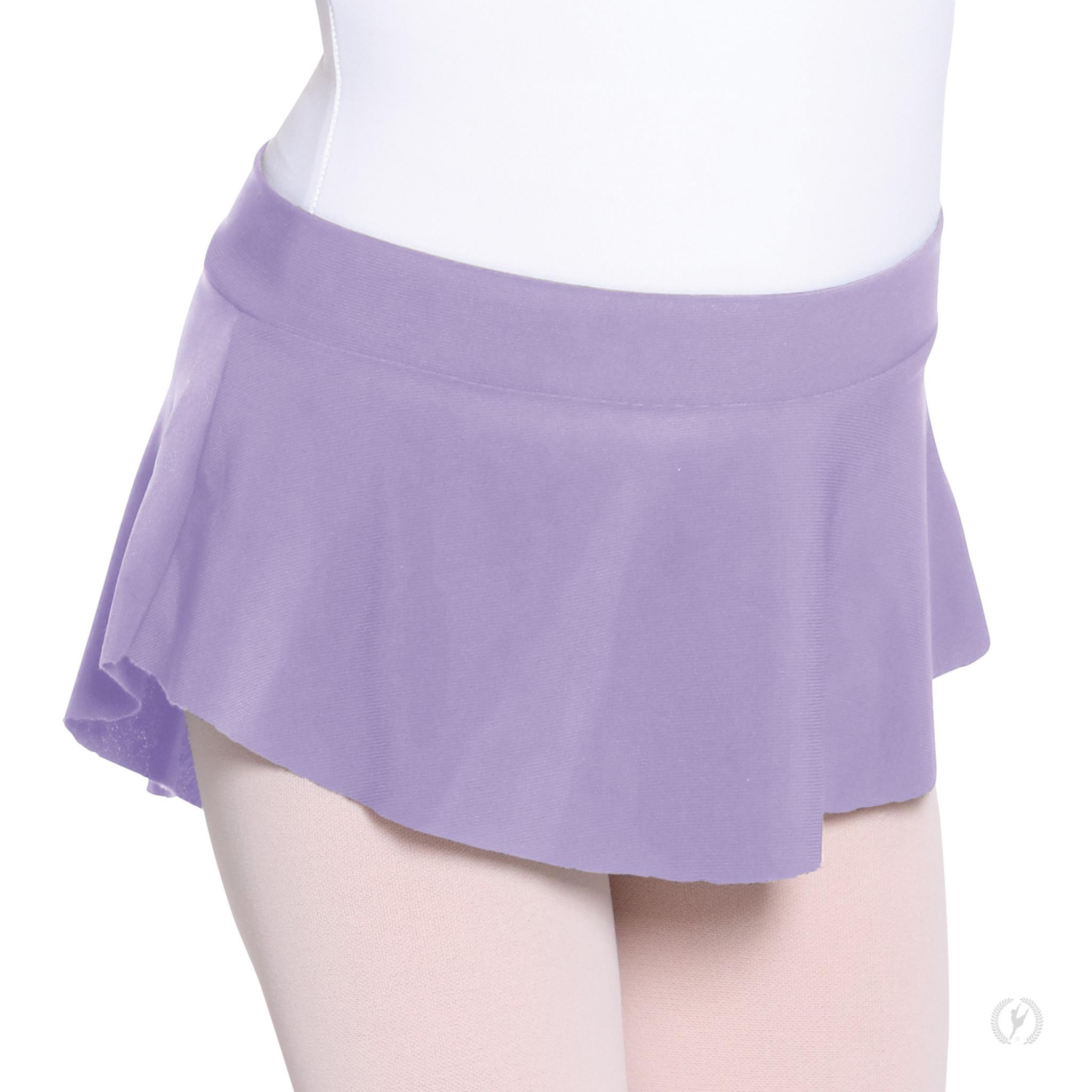 Eurotard 06121c - Girls High Low Pull On Mini Ballet Skirt