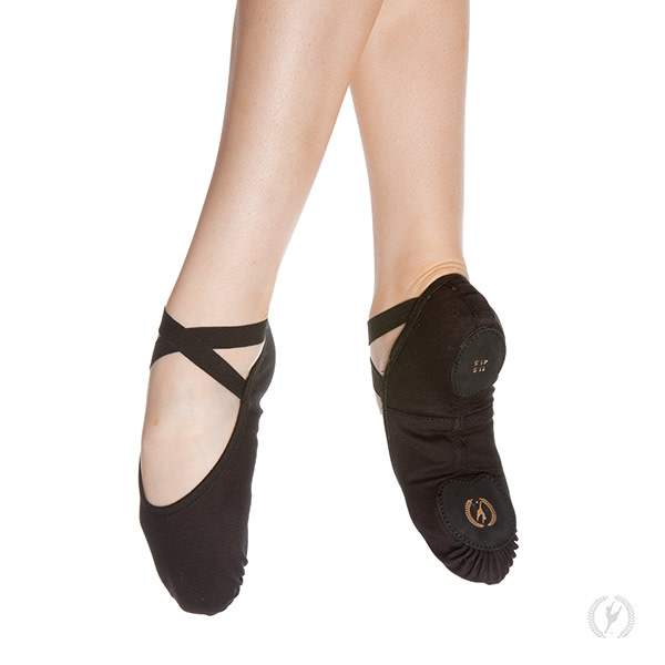 Eurotard A1004c - Child Assemblé Split Sole Canvas Ballet Shoes