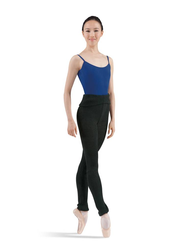 Bloch P0928 Marcy Roll Over Knit Pants