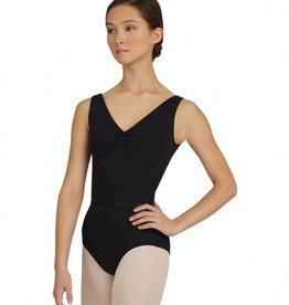 Capezio TC0002 V Neck Leotard w/Belt