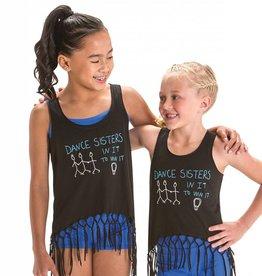 Motionwear 4828 Dance Sisters Fringe Tank