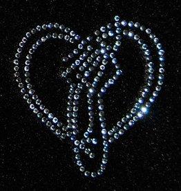 FH2 K0031 Heart w/ Ballet Shoe