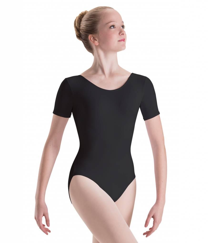 Motionwear 2104 Adult Short Sleeve Silkskyn Leotard