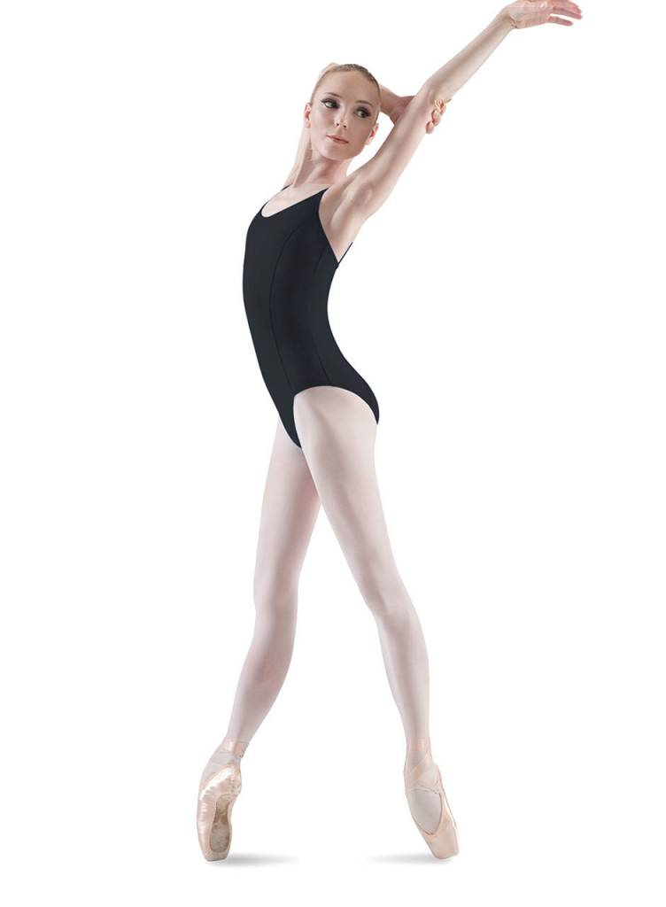 Bloch L6907 Seamed Cami Leotard - Black M