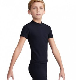 Capezio 10358B Boy's Fitted Crew Neck