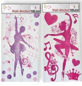Dasha Designs 6419 Dancing Ballerina Wall Stickers