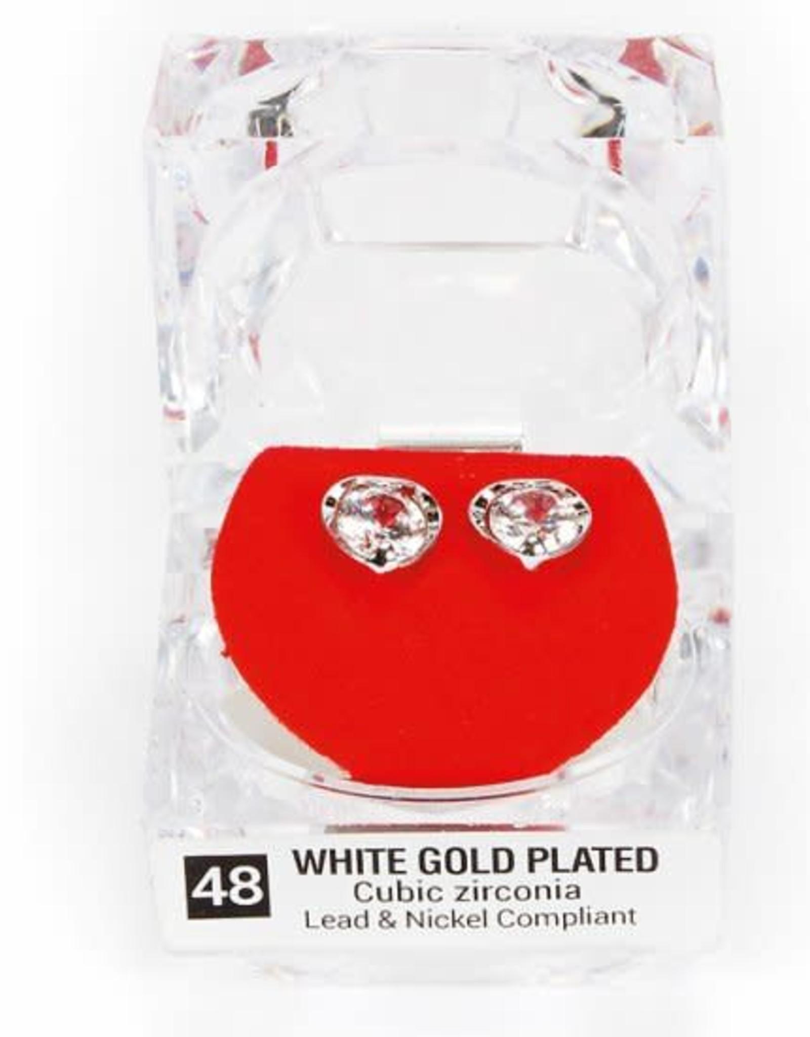 Dasha Designs 2718 Small CZ Post Earrings