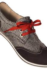 Aris Allen 330 Aris Allen Women's Canvas Wingtip Dance Shoes