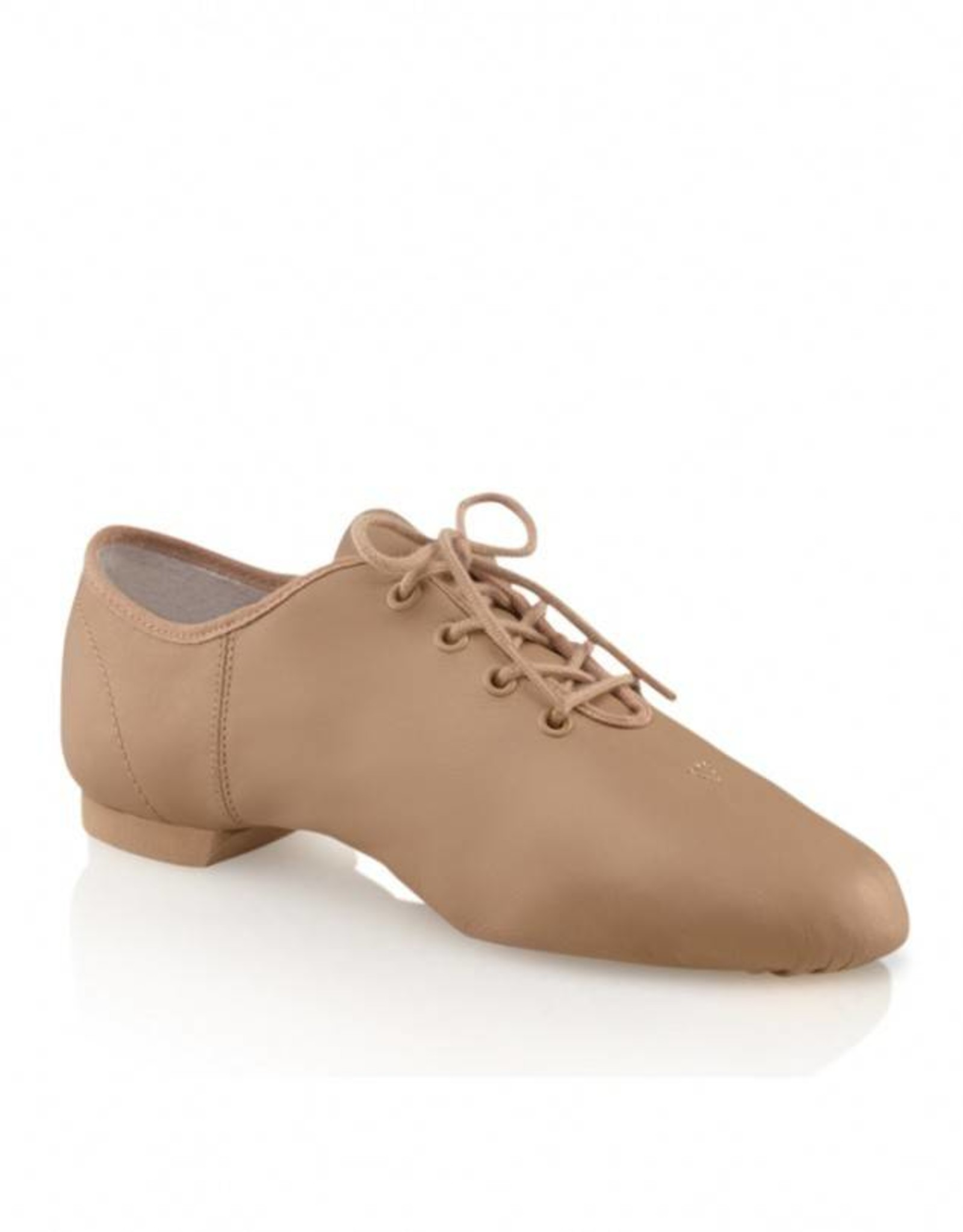 Capezio EJ1C Children's Entry Jazz Split Sole Leather Oxford Shoe