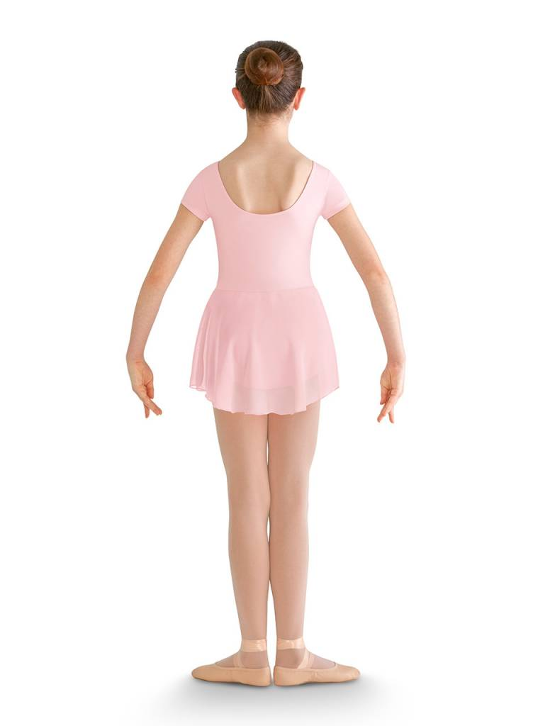 "Bloch CL8262 "" Prisha"" Cap Sleeve Skirted Leo"