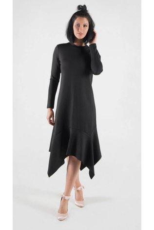 Code Asymmetrical Scuba Dress