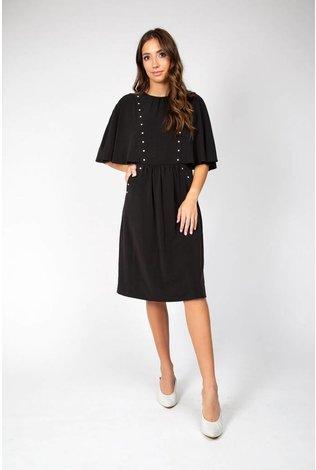 Cape Studded Dress