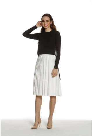 Ricciel Accordion Pleat Skirt - See more colors!