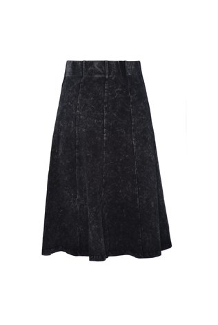 Jay Basic Panel Mineral Wash Skirt - See more colors!