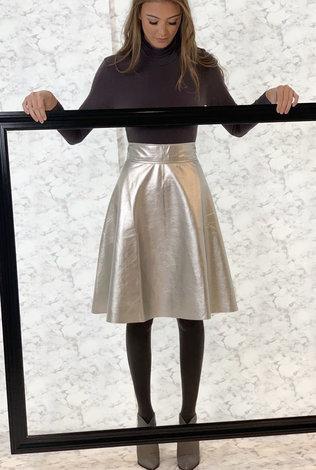 BYRD Byrd Silver Skirt