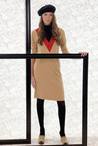 BYRD V Stripe Dress