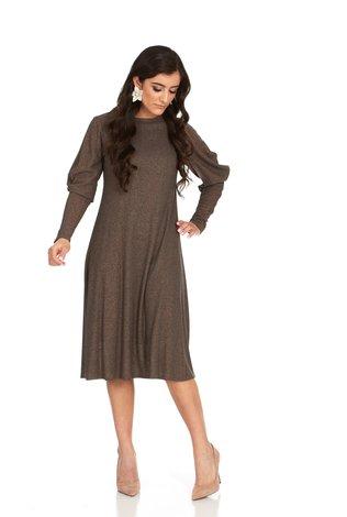 Bella Donna Draped Sleeve Dress