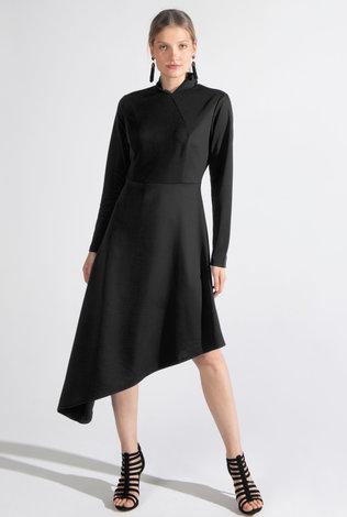 Deela Side Sweep Dress