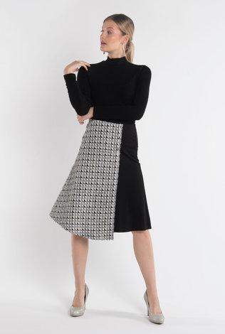 Deela Half Tweed Skirt