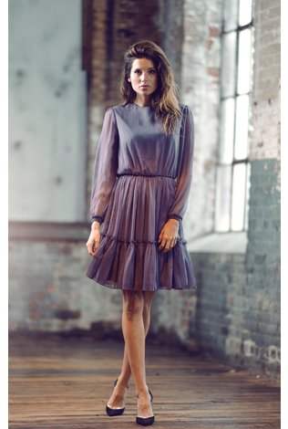 Ellie Makir Ellie Violet Dress