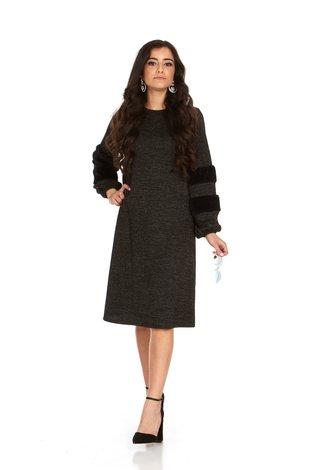 Bella Donna Victoria Dress Black