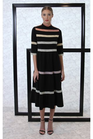 BYRD Olivia Ribbon Dress