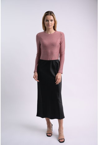 bliss Bliss Lurex Crew Pink