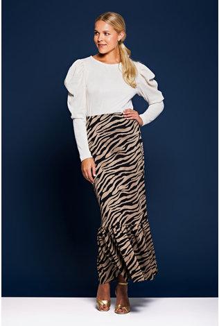 House of Lancry Cara Ruffle Skirt