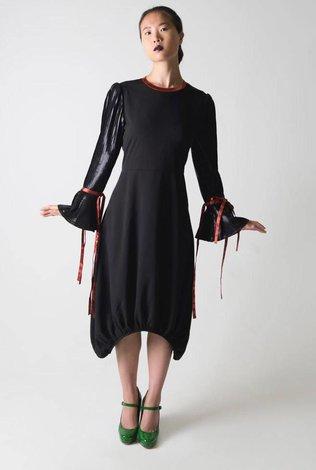 Ruti Horn Ribbon Cuff Bubble Dress - 70% OFF!