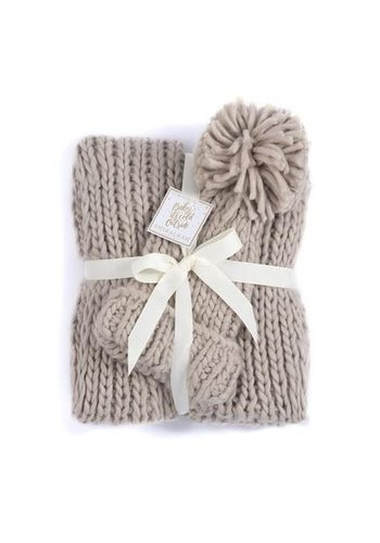 SIERRA SCARF & HAT SET