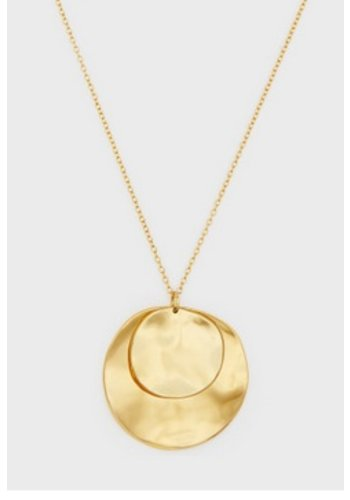 CHLOE DOUBLE PENDANT ADJUSTABLE NECKLACE