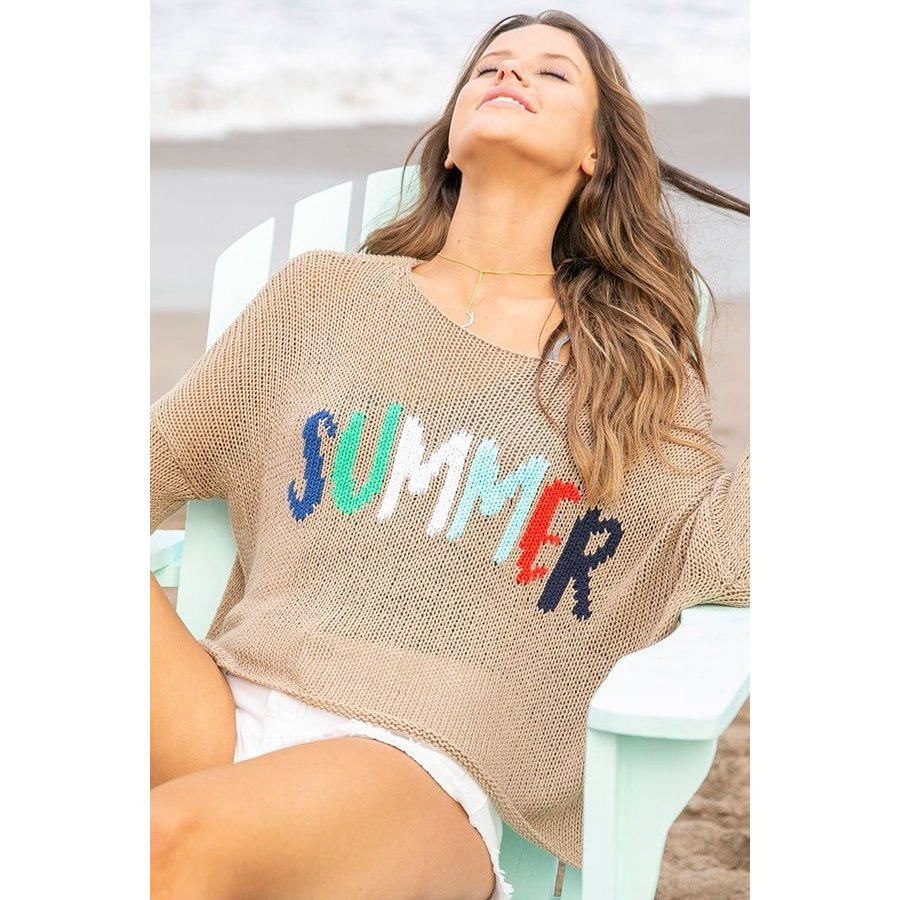 SUMMER CREWNECK COTTON