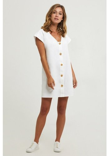 ANDI BUTTON DRESS