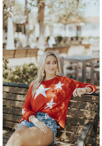 STARS+STRIPES TOP COTTON