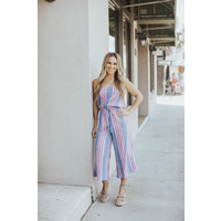 STRAPLESS COULOTTE JUMPSUIT