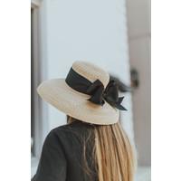 LG LAUREN HAT BLK BOW