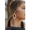 SHEILA FAJL V ON V EARRINGS